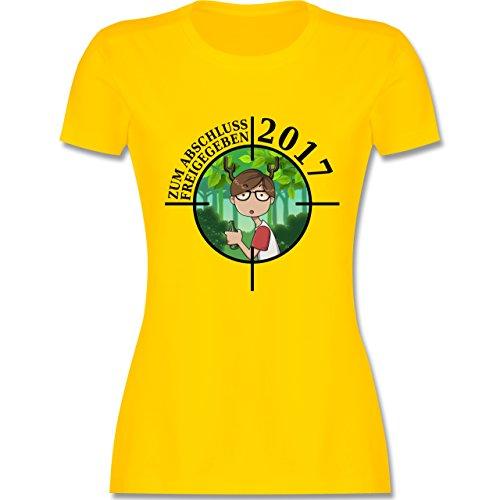Abi & Abschluss - Zum Abschluss freigegeben 2017 - Junge - tailliertes  Premium T-Shirt