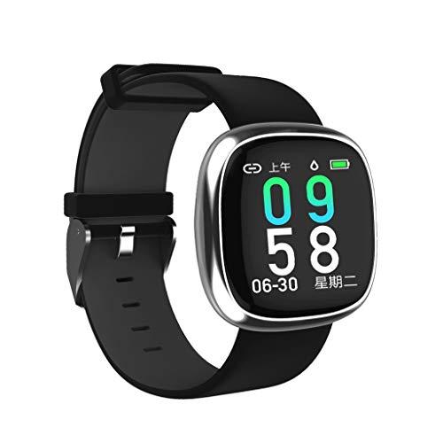 Fenebort Smart Watch, Bluetooth Smart Watch, Herzfrequenz, Blutdruck, Musik-Telefon-SIM, Laufende Sportuhr