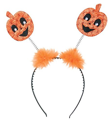 Edward Kostüm Bella - narrenwelt Halloween Wabbles Haarreif Kürbis mit Fellpuschel
