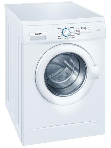 Siemens WM14A163 Frontlader Waschmaschine / AA / 1400 UpM / 5 kg / weiß / Schaumerkennung / Mehrfach-Wasserschutz