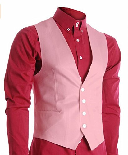 Leader of the Beauty -  Gilet  - Uomo Rosa
