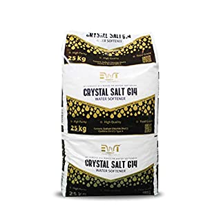 Water2buy EWT 25Kg Crystals Salt for Water Softeners- Super Effective Salt Crystals- Salt Crystals for All Water Softeners- with The Perfect Packaging