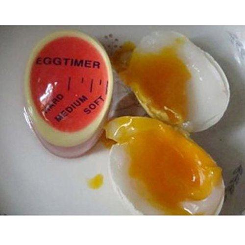 youpin 2Egg Timer, Kochen perfekt Eier jedes Mal Magic Farbwechsel Kochen Thermometer Küche Gadget