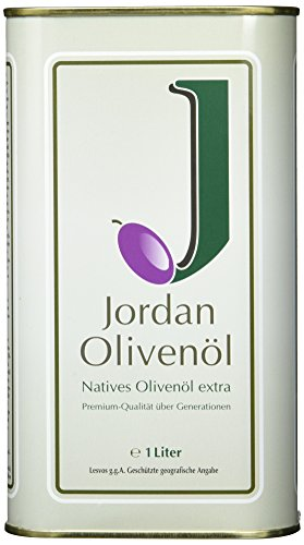 Jordan Olivenöl - Natives Olivenöl extra (1 l) International Olive