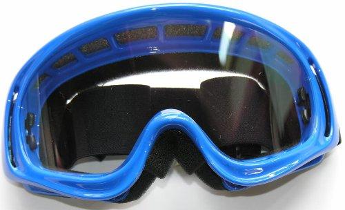Motocross x1Occhiali per moto racing sport Touring e occhiali di sicurezza blu