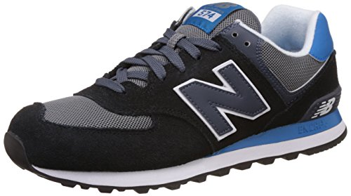 New Balance ML574CPU-574, Scarpe Running Uomo, Multicolore (Black/Blue 945), 42.5 EU