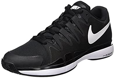 Nike Zoom Vapor 9. 5 Tour Black Anthracite White Mens Tennis Shoes ... ff481e190