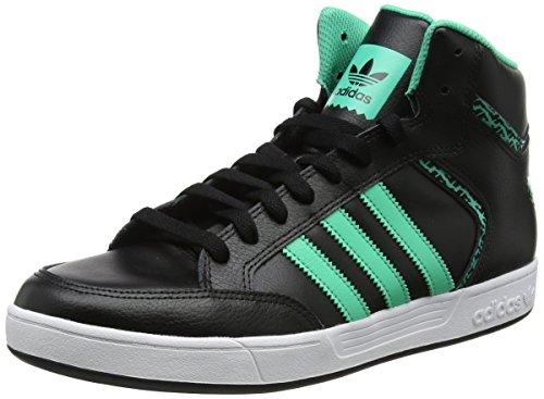Adidas varial mid, scarpe da skateboard uomo, nero (cblack/hiregr/ftwwht cblack/hiregr/ftwwht), 44 eu