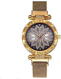 2019 Relojes Pulsera Mujer,Reloj De SeñOras Retro del DiseñO De Moda Reloj Digital Led
