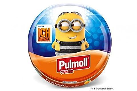 pulmoll Junior–Minions Jail pulmoll toux de pirate Junior Orange + Vitamines ACE sucre avec steviolglycosiden, 50g