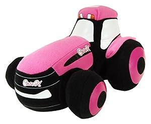 UH Kids-uhk1114-Peluche Tractor Case Magnum Mini Color Rosa