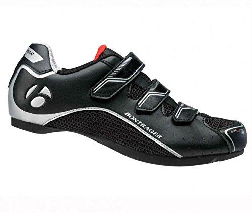 Bontrager Solstice-Scarpe da ciclismo su strada, da uomo, taglia 42, colore: nero