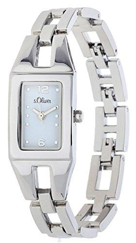 s.Oliver Damen-Armbanduhr Analog Quarz SO-15039-MQR