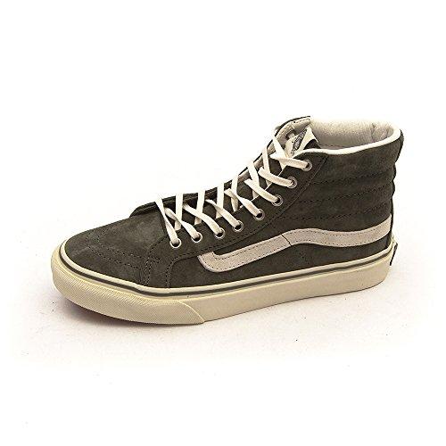 VANS Classic SK8-HI slim Scochguard 3M Sneaker skate leater XH7DO2 Green