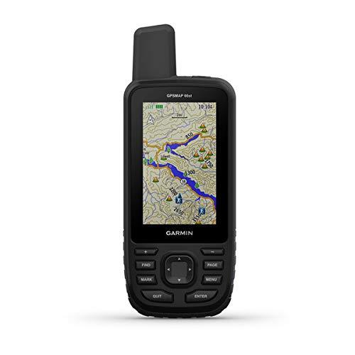 Garmin GPSMAP 66st, 010-01918-12, Handgerät mit Unterstützung der Multi-Satelliten-Netzwerke und TopoActive Europa-Karte Multi-satelliten-systeme