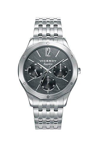 Viceroy Homme Multi-Cadrans Quartz Montre avec Bracelet en Acier Inoxydable 471131-55