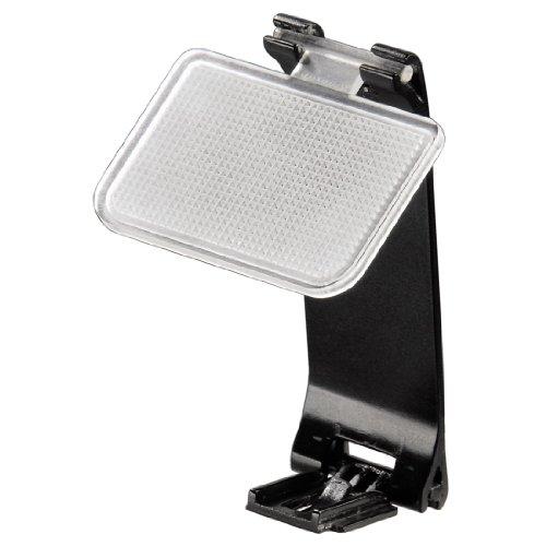 Hama Blitzdiffusor für Spiegelreflexkameras mit Standardblitzschuh, Universell einsetzbar, Pocket, Schwarz