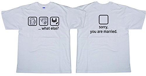 53e9ee957b Centro Stampa Brianza T-shirt addio al celibato - what else - Celibato -  Nubilato