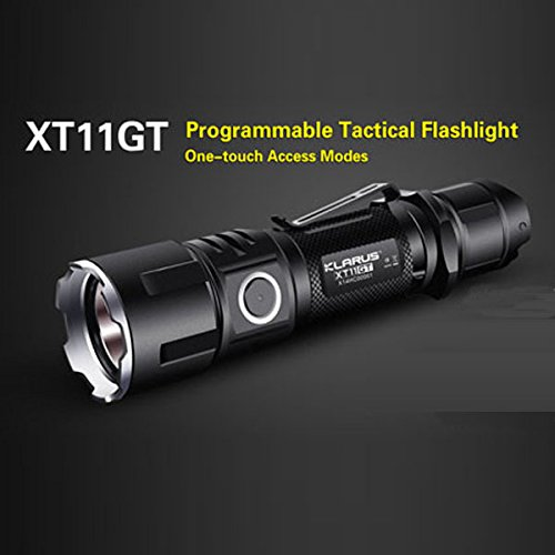 Preisvergleich Produktbild Klarus xt11gt xhp35HD E42000LM Tactical Outdoor LED Taschenlampe Lampe + 18650