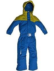 Central Project Ski Anzug Overall Dalia Boy - Traje de esquí para niño, color azul, talla 98