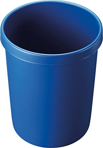 """Helit H6106234 - Papierkorb \""""the german\"""" 45L, blau"""