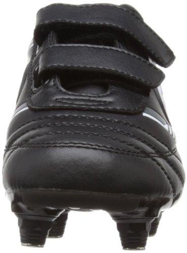 Optimum Tribal, Jungen Fußballschuhe Schwarz - Schwarz (Schwarz / Grau)