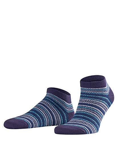 FALKE Herren Multi Stripe Füßlinge, Mehrfarbig (Blueberry 6743), 43/46 -