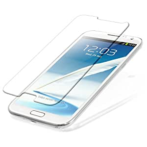 SNOOGG Pack of 3 Samsung Galaxy Core 2 Full Body Tempered Glass Screen Protector [ Full Body Edge to Edge ] [ Anti Scratch ] [ 2.5D Round Edge] [HD View] – White