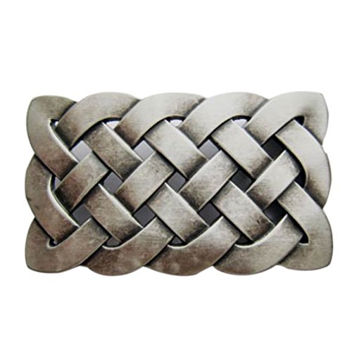 Celtic Buckle, Knot, Celtic Knot, genuine silver! Buckle