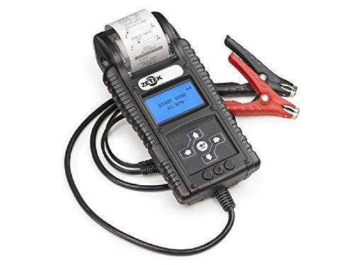 Batterietester und Lichtmaschine auch für Start & Stop mit Drucker wiederaufladbar kbt500