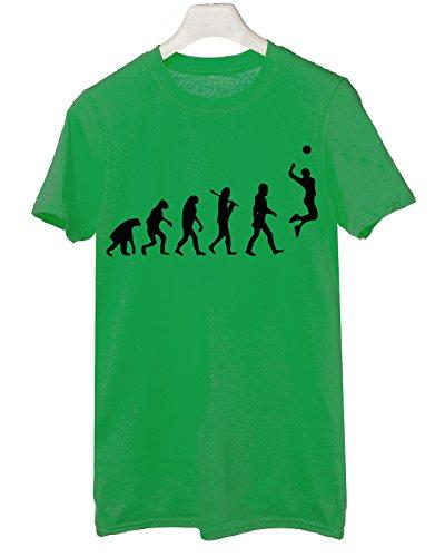 Tshirt volleyball evolution - pallavolo - sport - Tutte le taglie by tshirteria Verde
