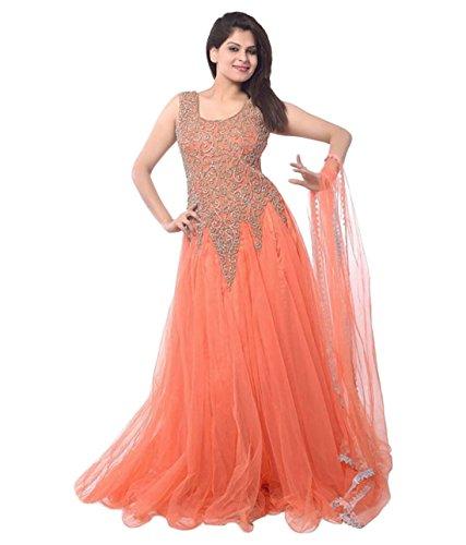 Rthub Women\'S Dress (Loli Orange_Orange_Free Size)