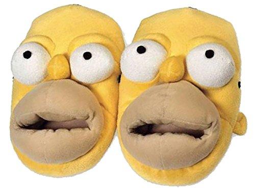 Chaussons Homer Simpson 3D - 41/43 - multicolor