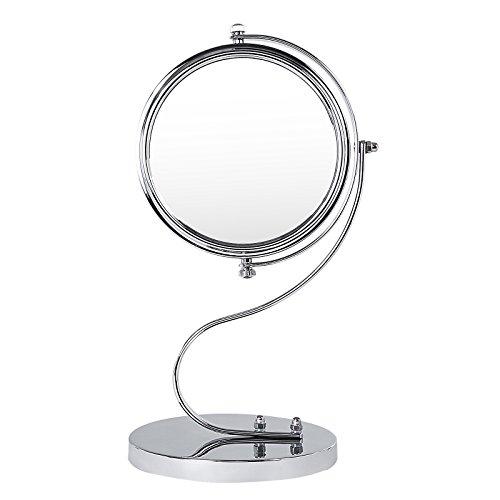 Preisvergleich Produktbild Songmics Kosmetikspiegel 3 fach + nomal doppelseitiger Tischspiegel BBM103