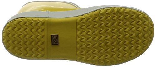 Aigle Lolly Pop Unisex-Kinder Langschaft Gummistiefel Gelb (Gelb / Weiß 3)
