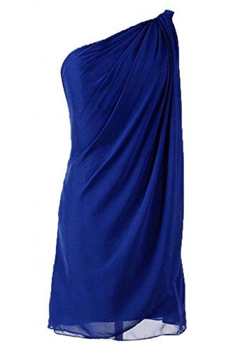 Sunvary Kurze Chiffon Neu Festlich Damen Abendkleid Cocktailkleider Royalblau