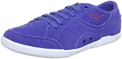 KangaROOS Doreen 31613, Damen Sneaker, Blau (almostroyal/prawn 464), EU 38