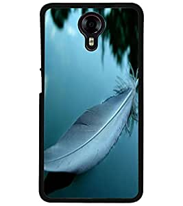 ColourCraft Lovely Feather Design Back Case Cover for MICROMAX CANVAS XPRESS 2 E313