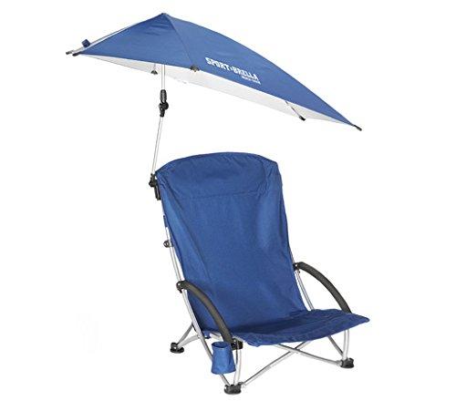 SKLZ Strandstuhl Sportsbrella blau (Chair Folding Nylon Beach)
