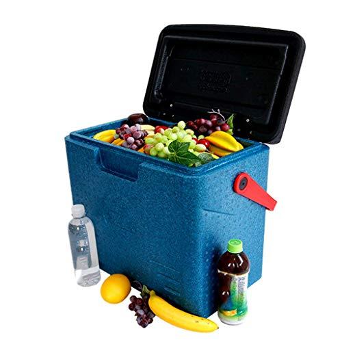 GJ Auto Kühlschrank-Kühlbox 30L Tragbare Persönliche Kühlbox-Leistung, Essen Trinken Picknick Strand Camping Isolierte Eisbeutel Kühlbox-Außenbier Party Kühlung Transportbox/A