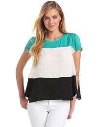 BCBGMAXAZRIA Damen Shirt JUF1P728, Rundkragen