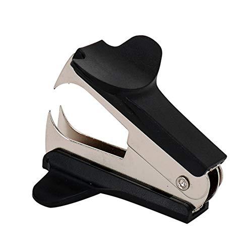 SUNG-LL Heftklammerentferner, Leichtgewichtswerkzeug für Büro, Schule, Leicht zu tragen, Schwarz