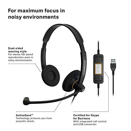 Sennheiser 504547 Culture Series Wideband Headset (SC60-USB-ML) Image 2
