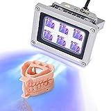Sovol 3D UV Resina Lámpara de curado de luz UV 405nm luces LED para impresoras SLA/DLP (Gris)