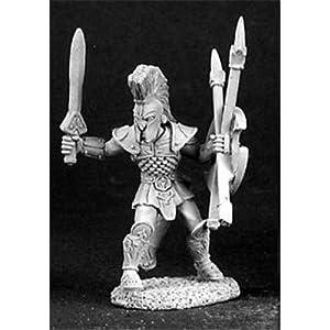 Reaper Miniatures 3104 - Leyendas Oscuras: Urian, Spartan (sin Pintar) Importado de Alemania