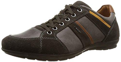 Geox Uomo Symbol A, Sneakers Basses Hommes Gris - Grau (C6372MUD)