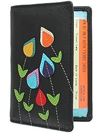 Mala Leather Colección ASTOR Portatarjeta de Pase de Viaje de Cuero 5114_95