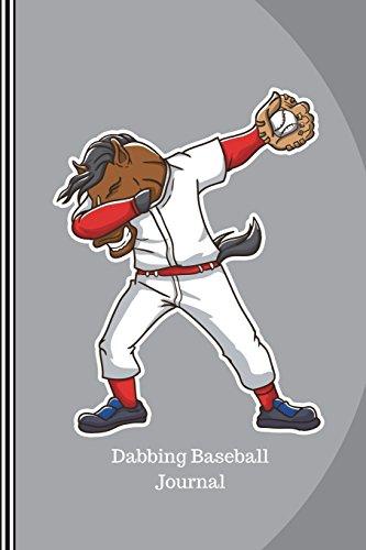 Dabbing Baseball Journal: Horse Baseball Player, Journal Notebook Planner Dot Grid, 100 Dotted Pages (6