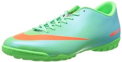 Nike Mercurial Victory Iv Tf, Men's Footbal Shoes, Green (n Lm/ttl Crmsn-mtllc Slvr-plrz 380), 10.5 UK (45.5 EU)