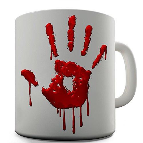 Hand Print Keramik Tee Tasse ()